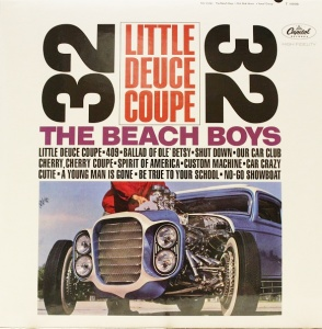 The Beach Boys - Little Deuce Coupe Vinyl LP (APP 061)