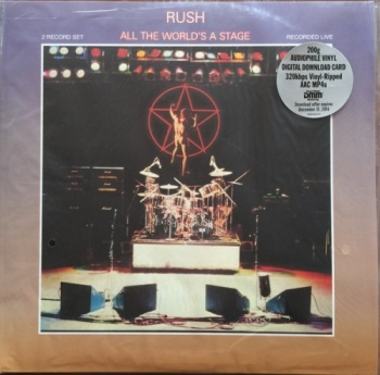 Rush - All The World's A Stage - 2x 200g Vinyl LP (B0022370-01)