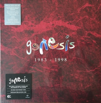 Genesis 1983 -1998 Box Set Vinyl LP - Virgin LPBOX13