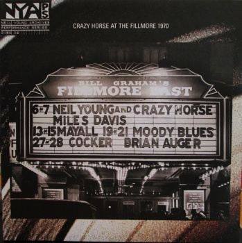 Neil Young & Crazy Horse - Live At The Fillmore East March 6 & 7 1970 - Vinyl LP (44429-1)