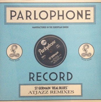 St. Germain - Real Blues (Atjazz Remixes) 12'' Single Parlophone 0825646110995 Vinyl LP