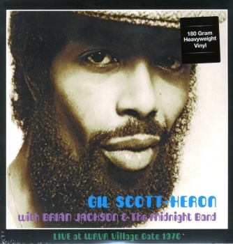 Gil Scott Heron with Brian Jackson & the Midnight Band Live at WRVR Village Gate 1976 - Vinyl LP (DOR2038H)