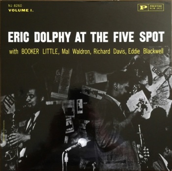 Eric Dolphy at The Five Spot Vinyl LP APRJ8260