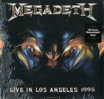 Megadeth - Live In Los Angeles 1995 At Great Olympic Auditorium Vinyl LP DOR2049H