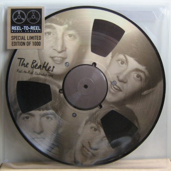 The Beatles Reel to Reel Outtakes 1963 - Picture Disc Vinyl LP REELTOREELLP2