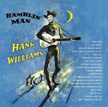 Hank Williams Ramblin' Man Vinyl LP DOS674H