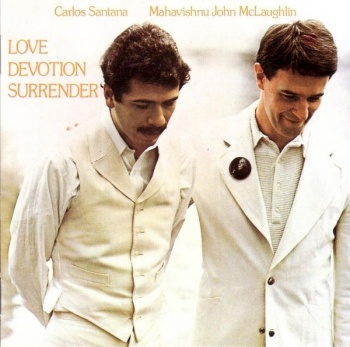 Carlos Santana / Mahavishnu John McLaughlin - Love Devotion Surrender - Vinyl LP (KC32034)