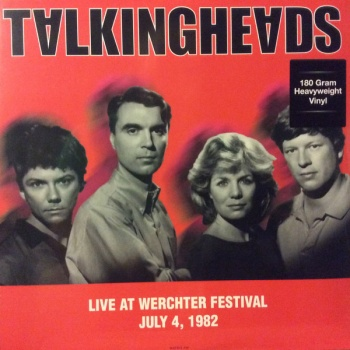 Talking Heads - Live At The Werchester Festival July 4 1982 Vinyl LP DOR2068H