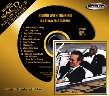 B.B. King & Eric Clapton - Riding With The King Hybrid SACD (AFZ211)