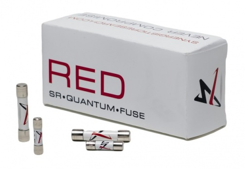 Synergistic Research 'SR Red' Reference UK Plug Fuse