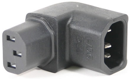 AudioQuest IEC-90/1 Right Angle IEC Connector