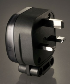 MS HD Power MS 328 13A UK Mains Plug With MS-9315 IEC Plug