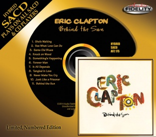 Eric Clapton - Behind the Sun Audio Fidelity SACD
