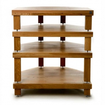 Hi-Fi Racks Akorner Two Tier Corner Equipment Stand 445mm (W) x 400mm (D)