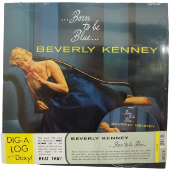 Beverly Kenney - Born To Be Blue - Vinyl LP & CD