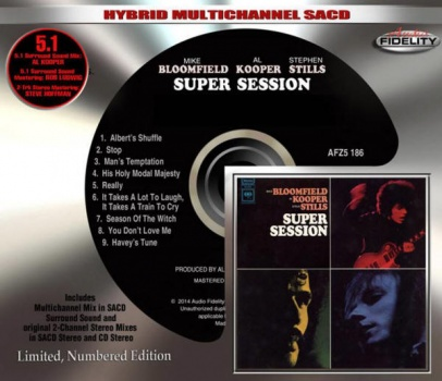 Mike Bloomfield / Al Kooper / Stephen Stills ‎– Super Session - Hybrid SACD
