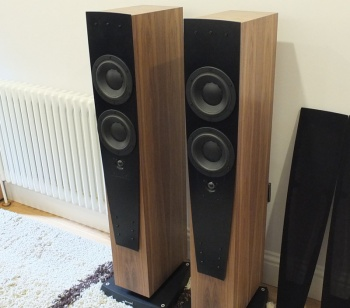 Dynaudio Contour S 3.4 LE Loudspeakers - Walnut Finish   EX Demonstration