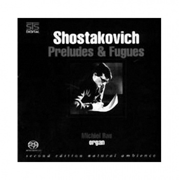 STS Digital Shostakovitch Preludes & Fugues Music CD