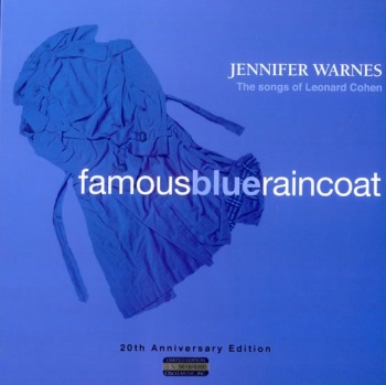 Jennifer Warnes - Famous Blue Raincoat Vinyl LP (IMP6021) - Missing Cellophane Packaging