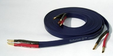 tellurium q blue 1 0m speaker cable un terminated single length new old stock. Black Bedroom Furniture Sets. Home Design Ideas