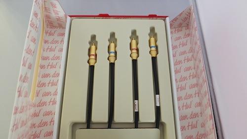 Van Den Hul D 501 Hybrid Tonearm Cable