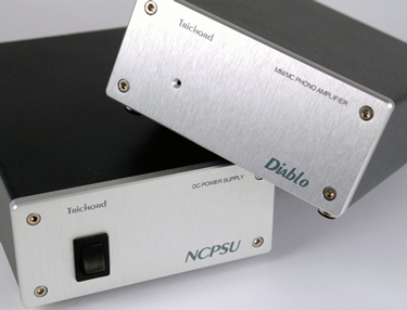 Trichord Diablo Phono Stage with 'Gen2 Never Connected' PSU