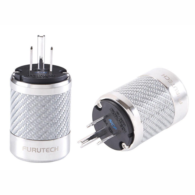 Furutech Fi 50m Ncf Us Rhodium Ac Power Connector