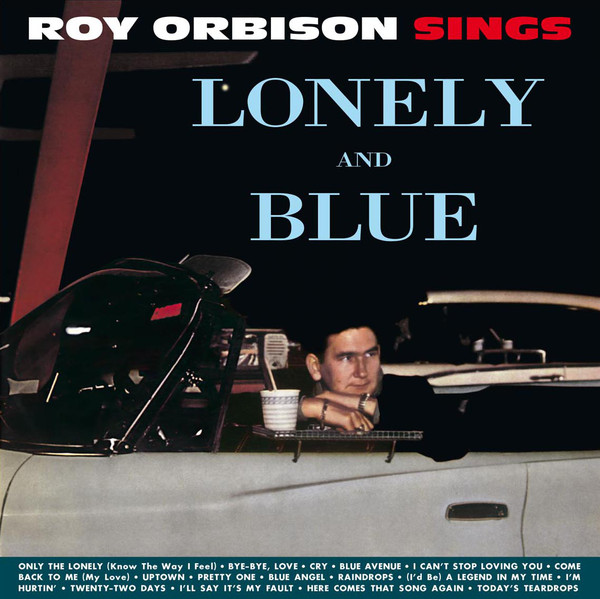 roy orbison sings lonely and blue vinyl lp dos632h
