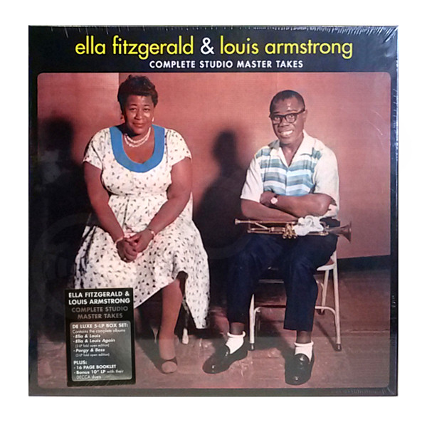 Ella Fitzgerald Amp Louis Armstrong Complete Studio Master