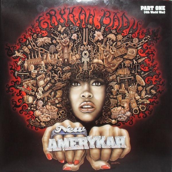Erykah Badu New Amerykah Part 1 Vinyl Lp B0010800 01