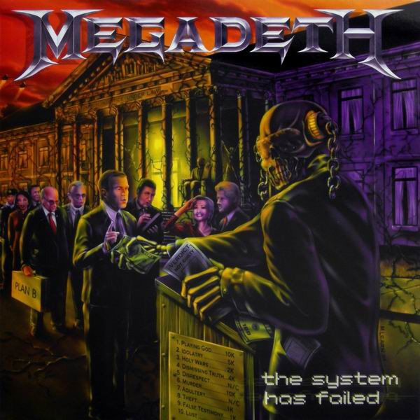Megadeth The System Has Failed Vinyl Lp Movlp684