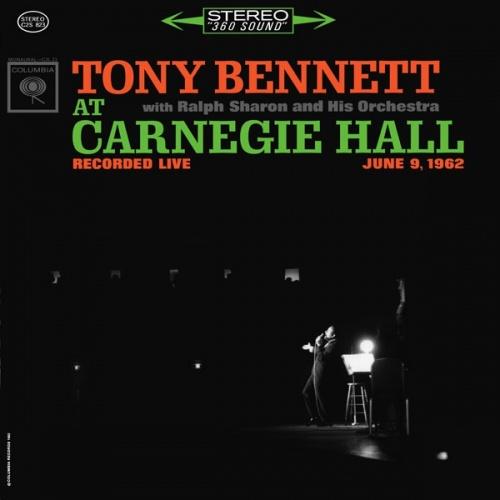 Tony Bennett At Carnegie Hall Recorded Live June 9 1962
