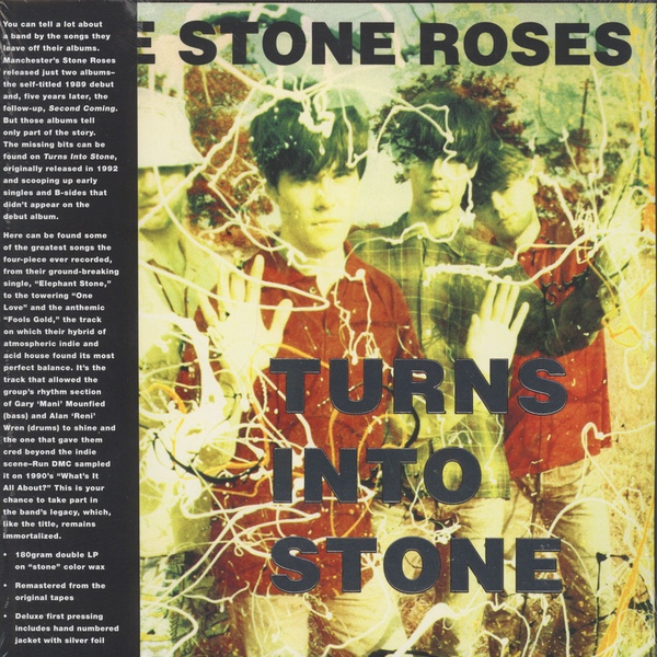 The Stone Roses Turns Into Stone 2x 180g Vinyl Lp