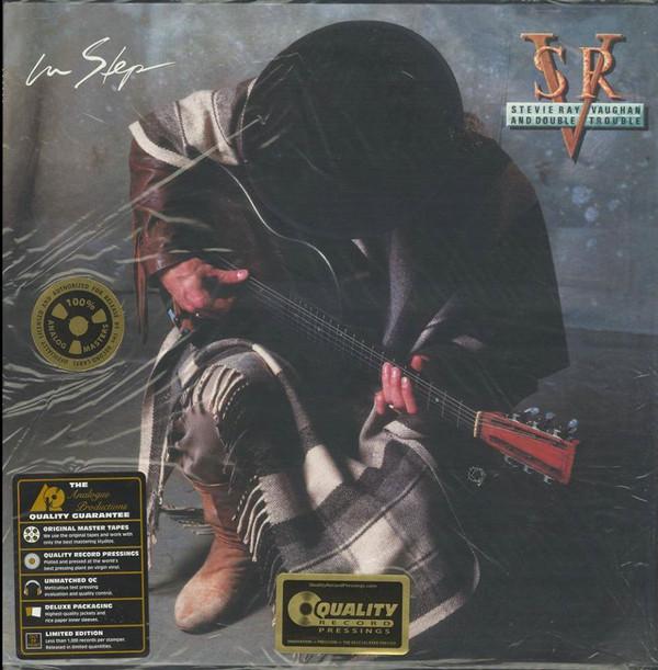 Stevie Ray Vaughan In Step Vinyl Lp Apb099 200g