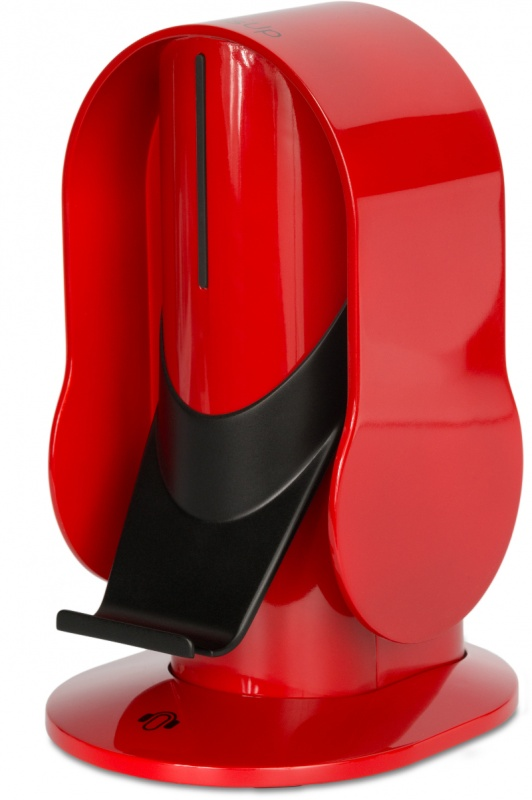 Red Bases For Living Room Decor: Heads Up Base Headphone Stand - Gloss Red