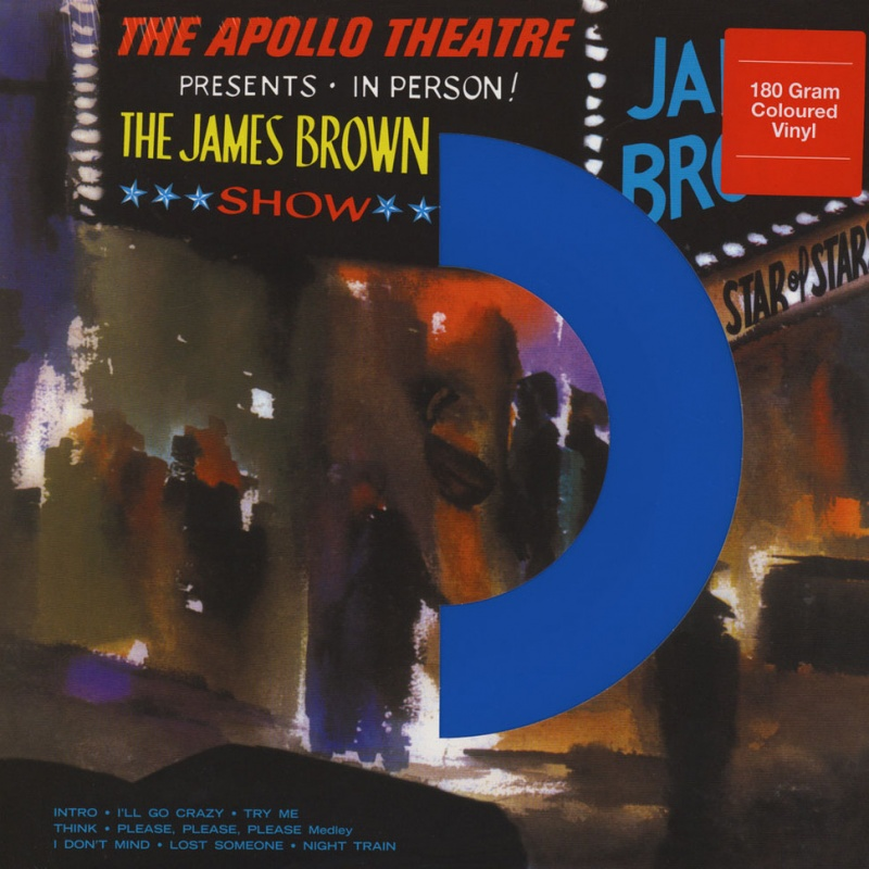 James Brown Live At The Apollo Coloured Vinyl Lp 180g
