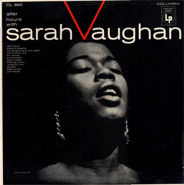Sarah Vaughan After Hours Vinyl Lp Cl660