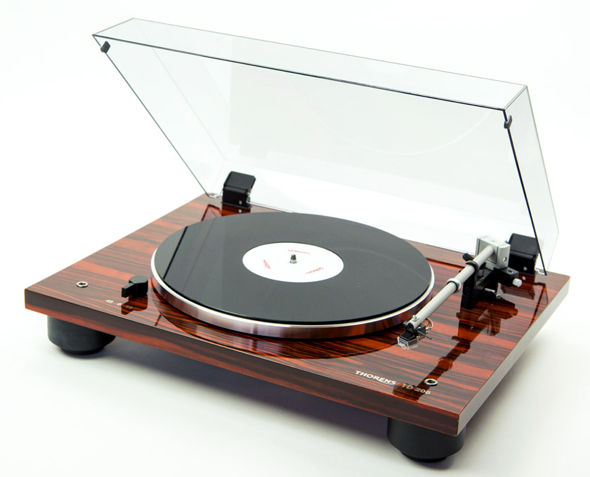 thorens td 206 turntable. Black Bedroom Furniture Sets. Home Design Ideas