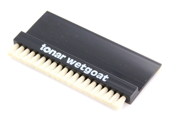 Goat Bristle Wet Record Cleaning Brush