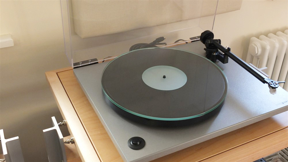 Analogue Studio Crystal Glass Turntable Platter Mat