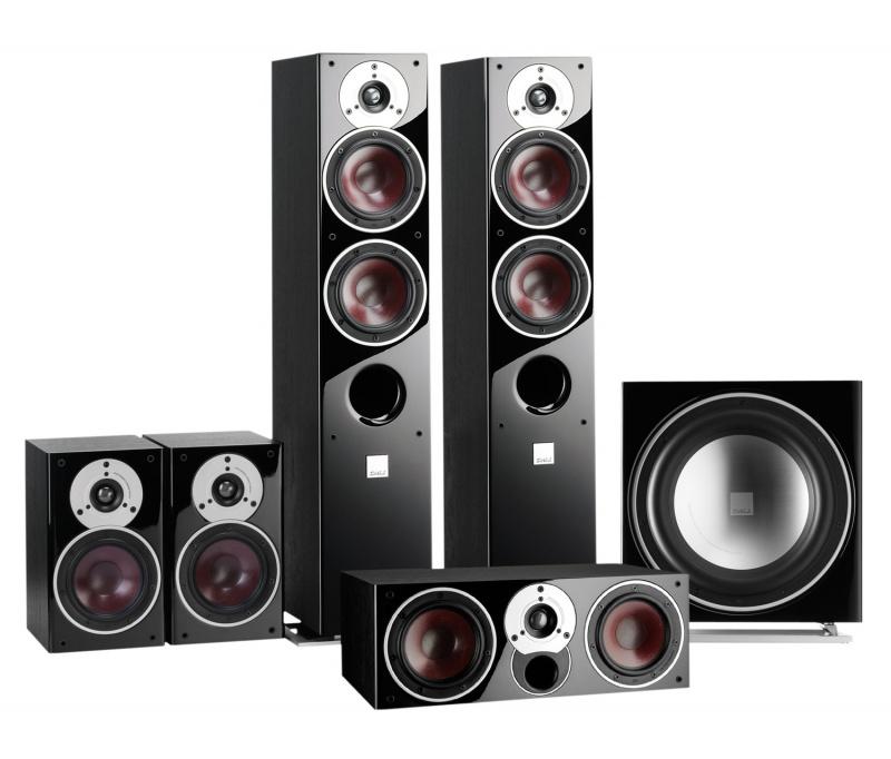 dali zensor 7 5 1 home cinema speaker package. Black Bedroom Furniture Sets. Home Design Ideas