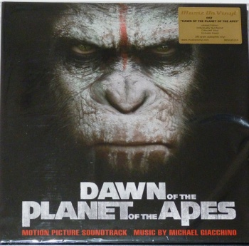 Dawn Of The Planet Of The Apes Original Soundtrack 2x 180g Vinyl LP (MOVLP1219)