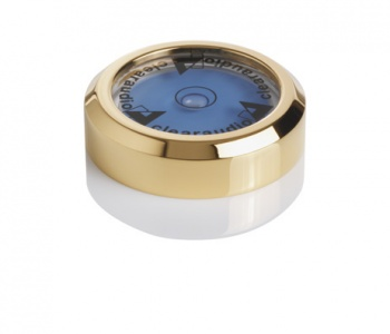 Clearaudio Turntable Level Gauge - 24kt Gold Plated Version