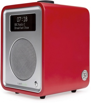Ruark Audio R1 MkIII Deluxe Tabletop DAB Radio - 30th Anniversay Swiss Red Special Edition