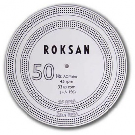 Roksan Turntable Speed Strobe Disc