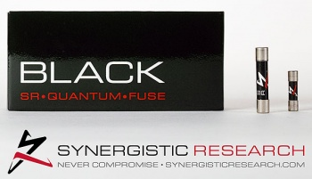 Synergistic Research Black SR Quantum Reference 32x6.3mm Fuse