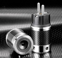 Furutech FI-E50 Rhodium Plated SCHUKO Connector