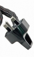 True Colours Rhodium plated UK 13A Mains Plug