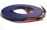 Tellurium Q Blue Speaker Cable Terminated With Z Banana Plugs