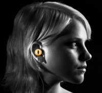 Quarkie Snake Eye In Ear Headphones